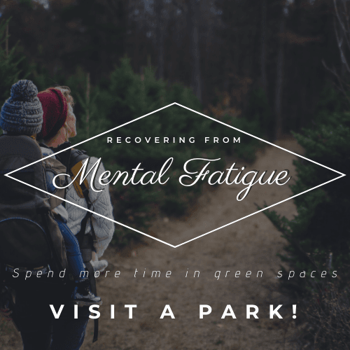 Mental Fatigue - Get Outdoors