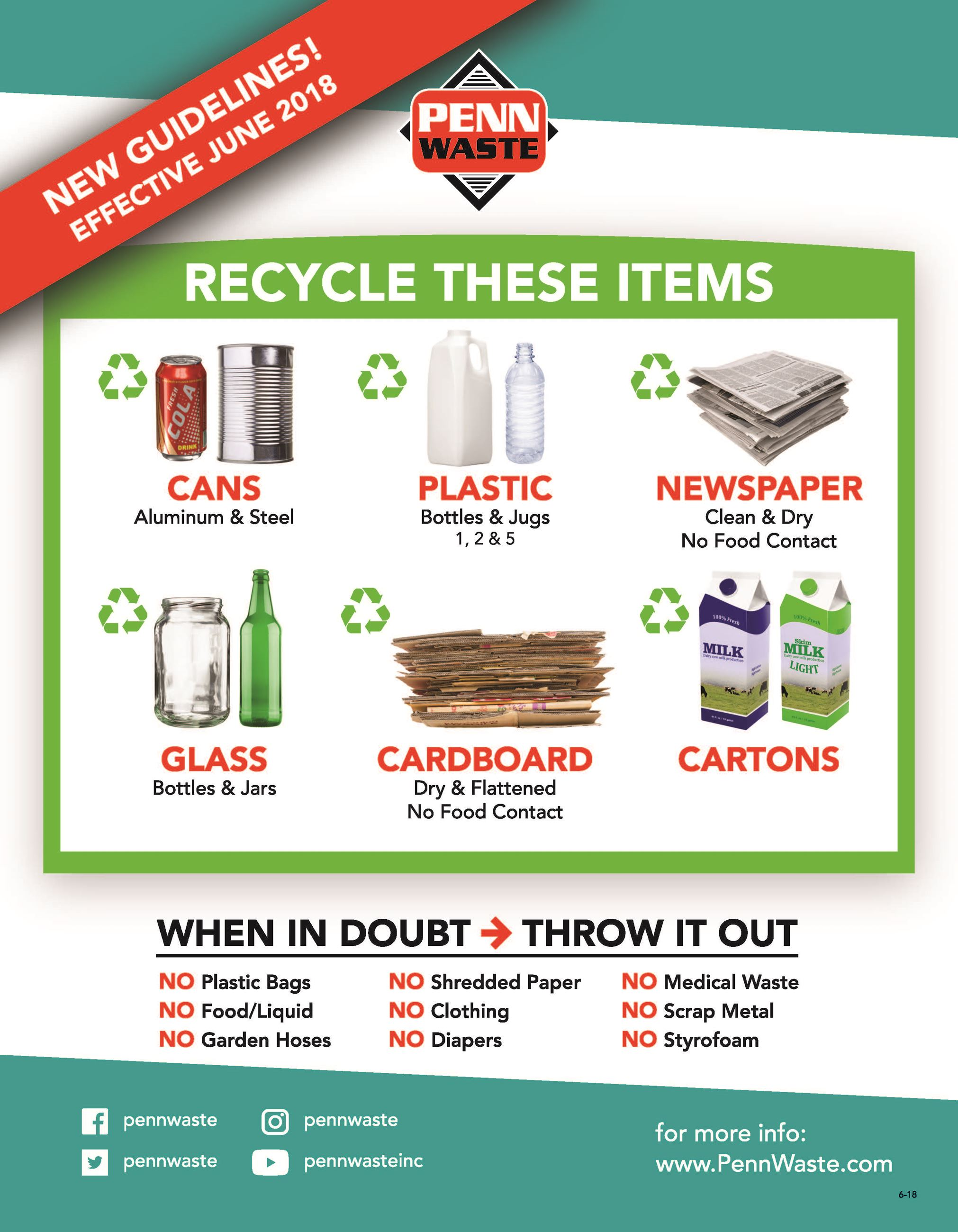 Recycle Guidelines June 2018